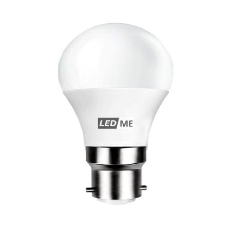 3.5W Energy saving LED bulb B22 bayonet in WARM WHITE 3000K